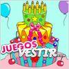 Juegos pastel de cumpleaños para colorear