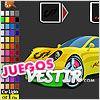 Juegos super coche para colorear