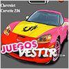 Juegos chevrolet corvette z06 para colorear