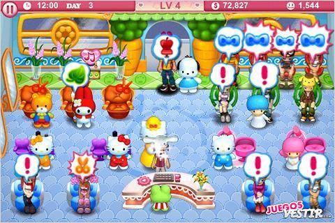 Captura de pantalla del juego Hello Kitty Beauty Salon (2)