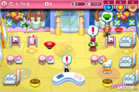 Captura de pantalla del juego Hello Kitty Beauty Salon Seasons (2)