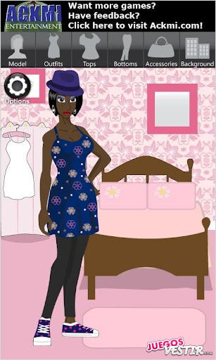 Captura de pantalla del juego Ackmi Dress Up & Jewelry Free