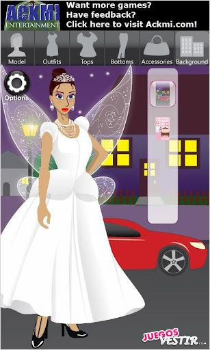 Captura de pantalla del juego Ackmi Dress Up & Jewelry Free 2
