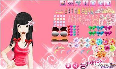 Captura de pantalla del juego Ciudad Pelo Elegante Lite Hype 2