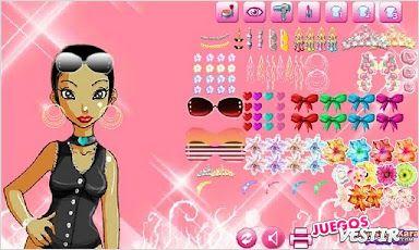Captura de pantalla del juego Ciudad Pelo Elegante Lite Hype