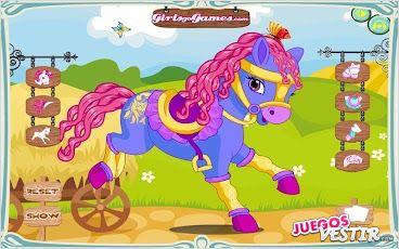 Captura de pantalla del juego Pony Vestir 2
