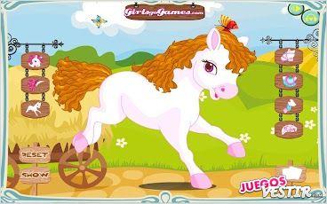 Captura de pantalla del juego Pony Vestir