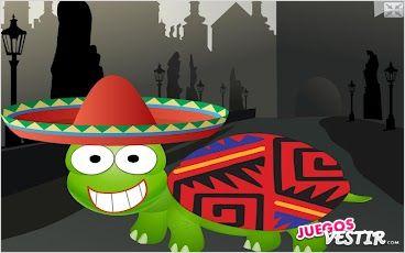 Captura de pantalla del juego Viste a la Tortuga 2